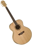 Washburn WJ40S Cumberland Series Jumbo Acoustic Guitar w/ Hard Case