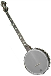 Gold Tone WL-250 White Ladye Open Back Banjo. Free shipping, case, setup!