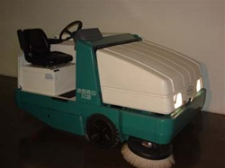 Tennant 6650 sweeper