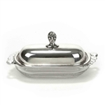 Adoration by 1847 Rogers, Silverplate Butter Dish