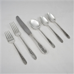 Royal Rose by Nobility, Silverplate Set of Flatware