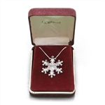 Pendant by Gorham, Sterling 1979 Snowflake