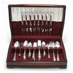 Daffodil by 1847 Rogers, Silverplate Flatware Set, 44 PC Set
