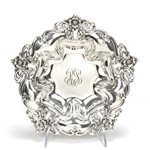 Bowl by Reed & Barton, Sterling Nouveau Floral Design, Monogram RG