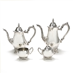 Du Maurier by Oneida, Silverplate 4-PC Tea & Coffee Service