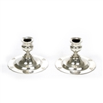 Candlestick Pair by Poole Siver Co., Silverplate