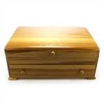 Silverware Box by Naken, Wood, Two Drawer
