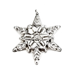 1970 Snowflake Sterling Ornament by Gorham