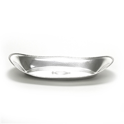 Bread Tray, Silverplate, Hammered Design