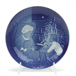 Christmas Plate by Bing & Grondahl, Porcelain Decorators Plate, A Christmas Tale