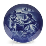 Mother's Day by Bareuther, Porcelain Decorators Plate, Mother and Children