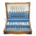 Magic Moment by Nobility, Silverplate Flatware Set, 45 PC