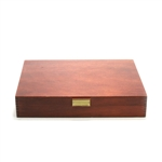 Silverware Box by AMC, Wood, Mahogany