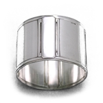 Napkin Ring by Boulenger, Silverplate, Deco Design