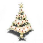 Pin by Gerry, Metal, Christmas Tree, Gold Tone