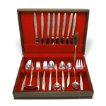 Laurel Mist by Deep Silver, Silverplate Silveplate Flatware Set, 47-PC Set