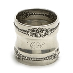 Lancaster by Gorham, Sterling Napkin Ring, Monogram CN