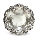 Bowl by Gorham, Sterling, Floral, Shell & Scroll Design
