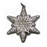 Pendant by Gorham, Sterling 1970 Snowflake