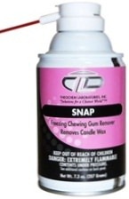 SNAP chewing gum remover