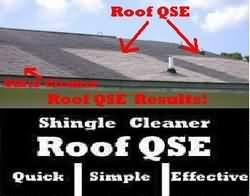 Roof Cleaning with Roof Algae Cleaner