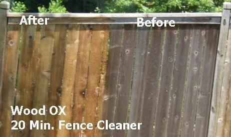 wood deck cleaning and brightening 2