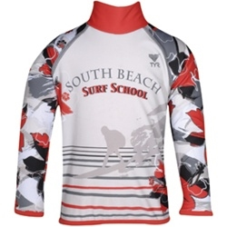 Surf School Long Sleeve Rash Guard
