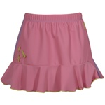 Solid Girls Pull-On Skirt