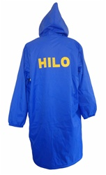 Tackle Twill Lettering for Swim parka-Team Name