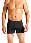 Adoretex Men's Polyester Solid Square Leg Swimsuit