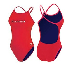 TYR  Guard Durfast Ring back swimwear