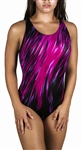 Adoretex Female Surfire Fit Back Swim Suit-FS006