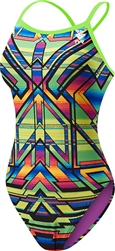 Women's Sarape Crosscutfit Swimsuit