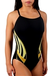 Adoretex Women's Side Wings Thin Strap Swimsuit