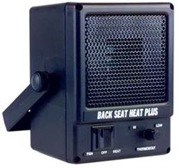 "D.C. electric heater. Dash, floor or firewall mountable. 1,100 TU""s, 12-volt, draws 25 apms."