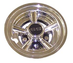 8 Inch SS Wheel Covers Golf Cart