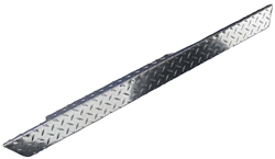 Bright Diamond Plate Full Rocker & Sill, Passenger's Side