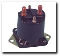 36-volt, 4 terminal, Prestolite solenoid with copper contacts. For Club Car electric 1976-98