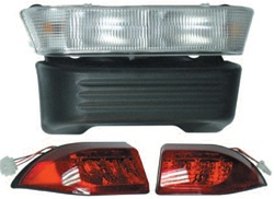 Club Car Precedent Electric Light Bar Bumper Kit