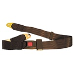 Golf Cart Universal Black Seat Belt Lap Belt