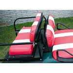Golf Cart Custom Rear Stationary Seat Covers