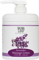 Massage Creme Lavender 19 oz.