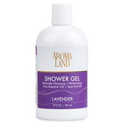 Bath & Shower Gel - Lavender 12 oz. (24 pack)