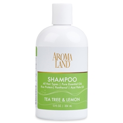 Shampoo - Tea Tree & Lemon 12 oz. (24 bulk pack)
