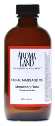 Facial Massage Oil Rose 8 oz.
