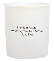 White Melt and Pour Soap Base - Approx. 42 lb.