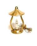 Solid Brass Hurricane Lamp