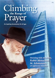 <br>Davening with the Rebbe DVD (Climbing the Rungs of Prayer)