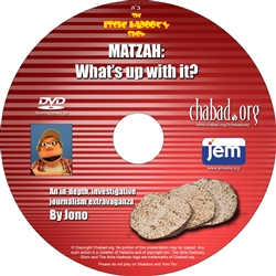 <br>Itche Kadoozy: <b>Matzah, What's Up With It?