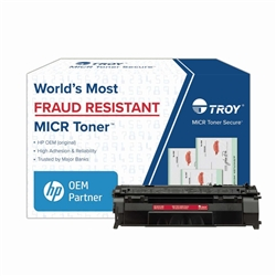 TROY Brand Secure MICR P2015 / Q7553A High Yield Toner Cartridge - New Troy 02-81212-001